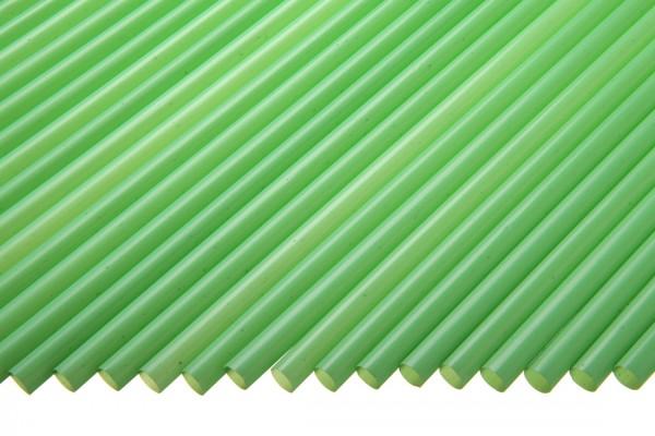 Trinkhalme Gerade, 5x130mm, grün 250 Stk./Beutel