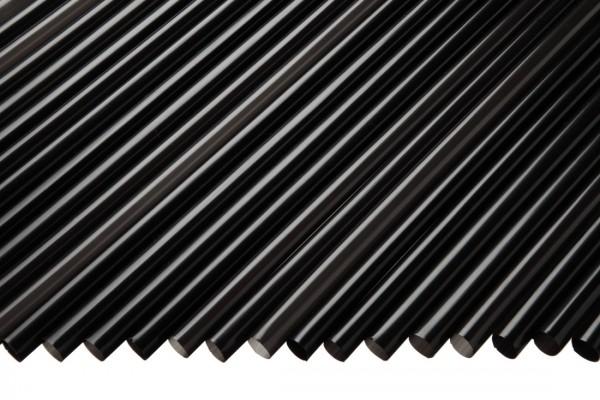 Trinkhalme Gerade, 8x200mm, schwarz 250 Stk./Beutel*