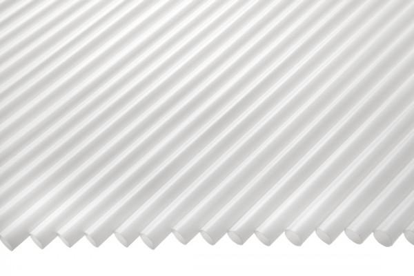 Jumbo Trinkhalme, 8x255mm, weiß 250 Stk./Beutel (**)
