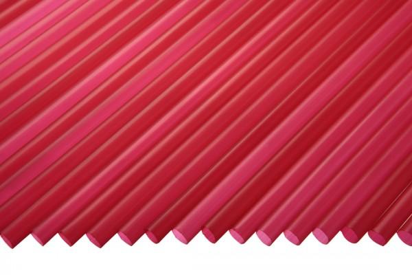 Trinkhalme Gerade, 5x130mm, rot 250 Stk./Beutel