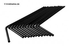 Strohhalm-Trinkhalme-Strohhalme-Trinkhalm-Knick-Flex-8x145mm-250Stueck-schwarz