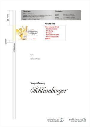 słomki z flagą SCHLUMBERGER.cdr